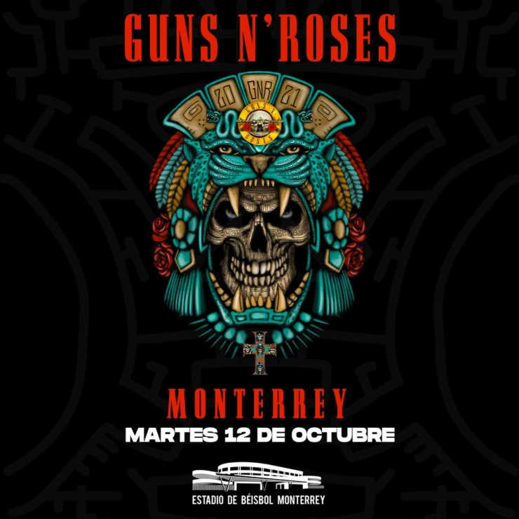 Guns N' Roses – Monterrey